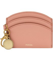 fossil polly leather card case