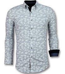 gentile bellini italiaanse blouse heren wit