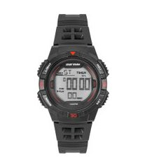relógio digital mormaii masculino - mo9100ab8r preto