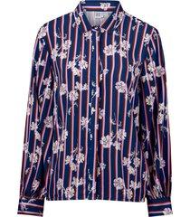 skjorta flower stripe