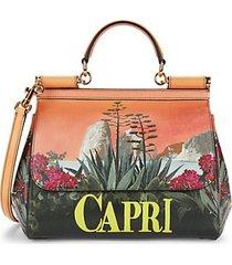 capri sicily leather crossbody bag