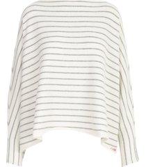 liviana conti oversized stripes sweater