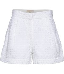 eyelet pleated shrt shorts flowy shorts/casual shorts vit michael kors