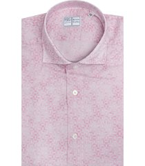 pink shirt with arabesque