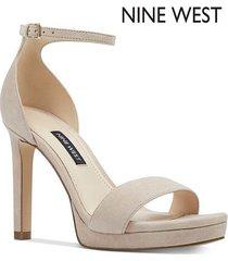 tacón alto para mujer nine west edyn- rosa