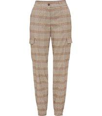pantaloni a quadri (marrone) - bodyflirt