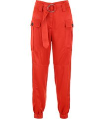self-portrait cargo trousers