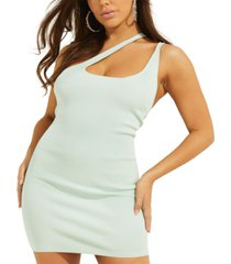 guess micah strappy ribbed dress