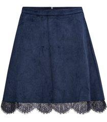 kjol onlcaitlyn faux suede skirt