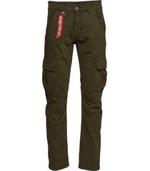 agent pant trousers cargo pants grön alpha industries