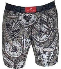 cueca boxer long leg kevland samoan masculina