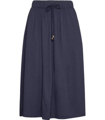 jenni jersey skirt rok knielengte blauw lexington clothing