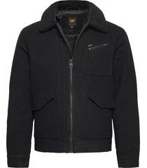 191j wool jacket ulljacka jacka svart lee jeans