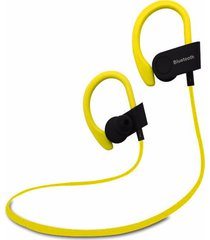 audífonos inalámbricos deportivos, auriculares deportivos portátiles auriculares inalámbricos auriculares bluetooth manos libres para sony iphone samsung (amarillo)