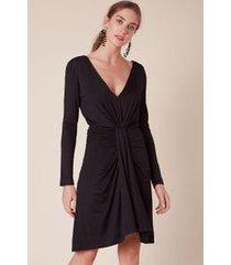 vestido corrente curto preto