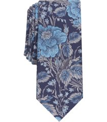 bar iii men's river classic floral tie, created for macy's