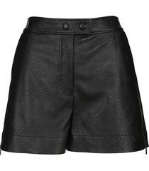stella mccartney layla eco leather shorts