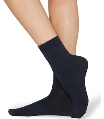 calzedonia - 50 denier soft touch socks, one size, blue, women