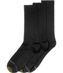 gold toe adc metropolitan 3 pack crew dress men's socks