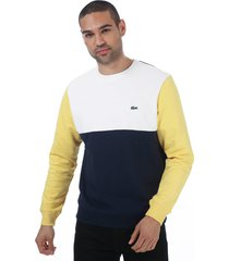 mens colourblock sweatshirt