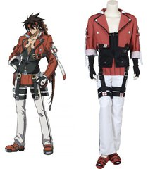 guilty gear sol badguy cosplay costume halloween outfit custom made
