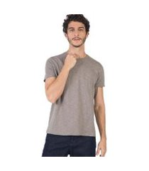 camiseta básica flamê fit premium taco masculina