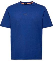 tchup t-shirts short-sleeved blå boss