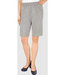 mjuka shorts med midjeresår paola grå