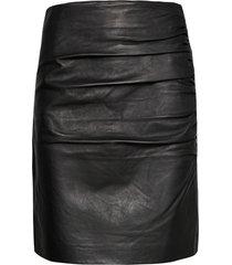2nd clarisse thinktwice kort kjol svart 2ndday