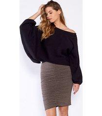 sweter oversizowy