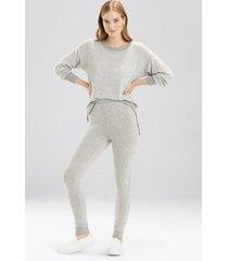 bella leggings pajamas, women's, grey, size l, josie