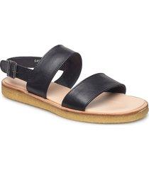 5452 shoes summer shoes flat sandals svart angulus