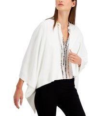 alfani drape-cape sweater, created for macy's
