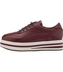 sneakers wenz bordeaux