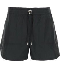 alexander mcqueen exploded faille shorts