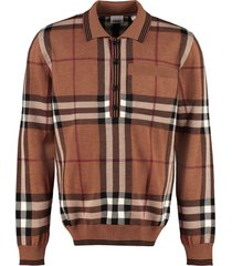 burberry wool pullover