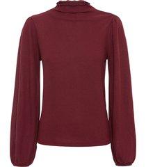 maglia morbida a maniche lunghe (rosso) - bodyflirt
