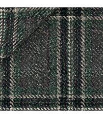 giacca da uomo su misura, vitale barberis canonico, verde quadri maxi, autunno inverno