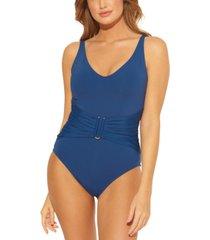 bleu by rod beattie all about u one-piece swimsuit women's swimsuit