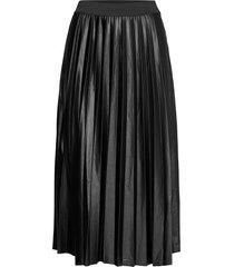 vinitban skirt/su - knälång kjol svart vila