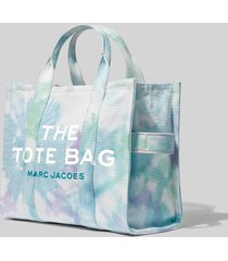 marc jacobs women's the tie dye small tote bag - blue multi