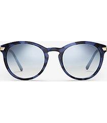 mk occhiali da sole adrianna iii - blu (blu) - michael kors