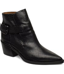 aila shoes boots ankle boots ankle boots with heel svart notabene