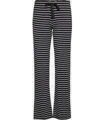 long pants pyjamasbyxor mjukisbyxor svart pj salvage