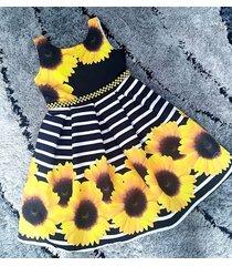 vestido girasol patatitas i2221 multicolor