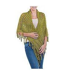 100% alpaca shawl, 'cajamarca valley' (peru)
