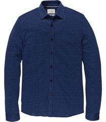 overhemd- l/s jersey pique jacquard