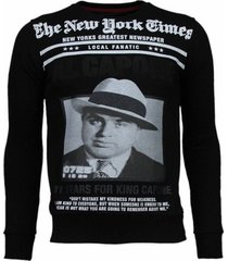 sweater local fanatic al capone rhinestone