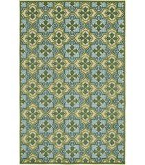 "kaleen a breath of fresh air fsr104-50 green 2'1"" x 4' area rug"
