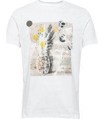 troaar 4 t-shirts short-sleeved vit boss